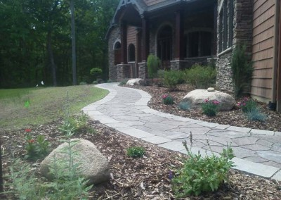 Stone Walk After