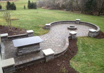 After fire pit