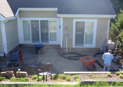 Back Patio Before